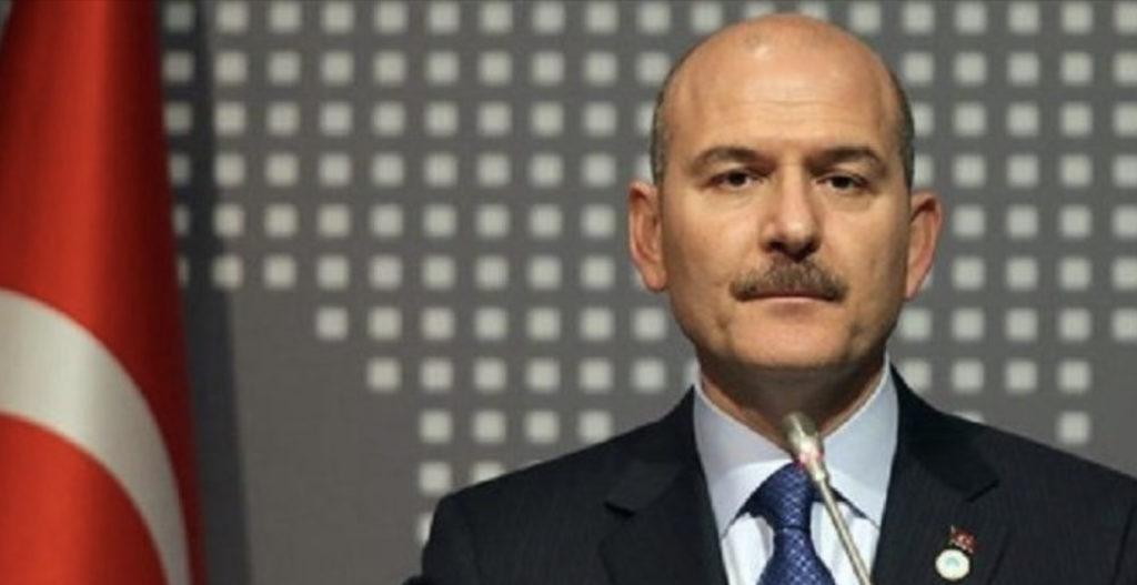 Türkiye İçişleri Bakanı Soylu, Hukuk, Siyasi İşler, Dış İlişkiler Komitesini Kabul Etti