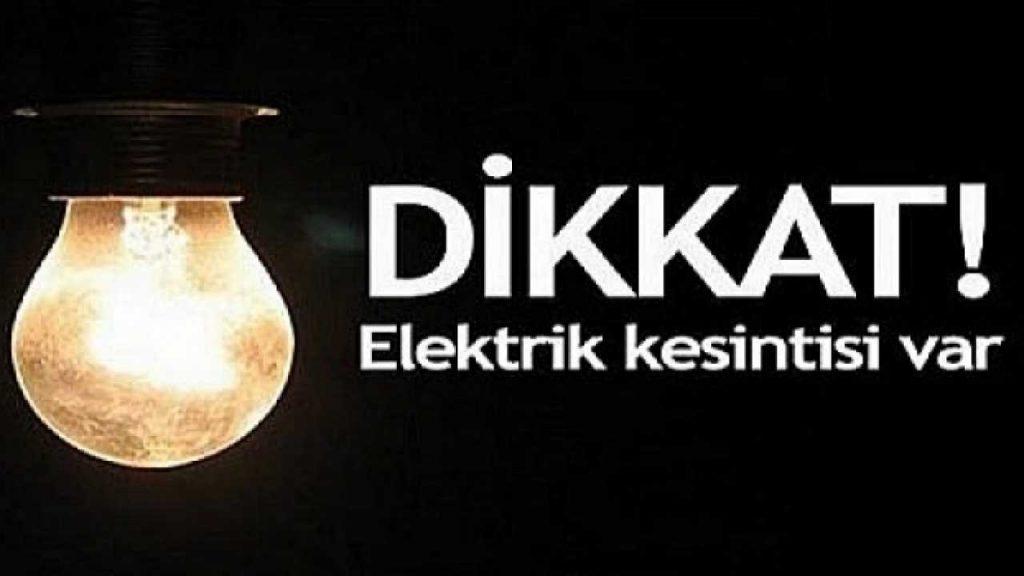 Alsancak'ta elektrik kesintisi!