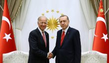 Erdoğan ve Biden görüşmesi