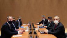 Çavuşoğlu:Kıbrıs Türk tarafının yeni çözüm vizyonuna tam destek verdiğimizi teyit ettik