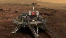 Üçüncü ülke oldu: Zhurong'un Mars'a iniş yaptı