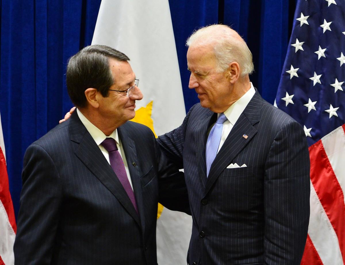 Biden, Anastasiadis'e Randevu Vermedi