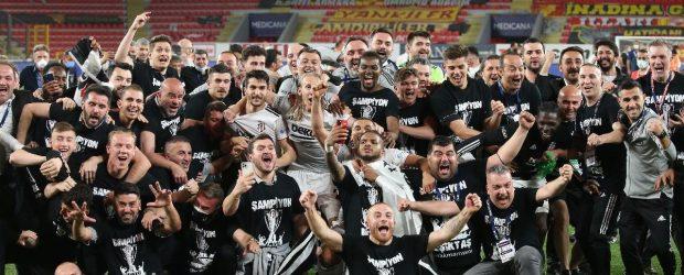 Süper Lig Şampiyonu Beşiktaş!