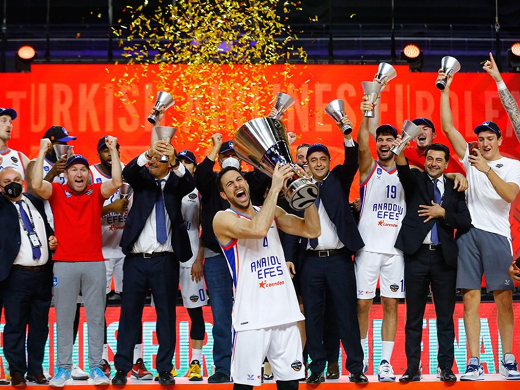Anadolu Efes, Avrupa şampiyonu oldu!
