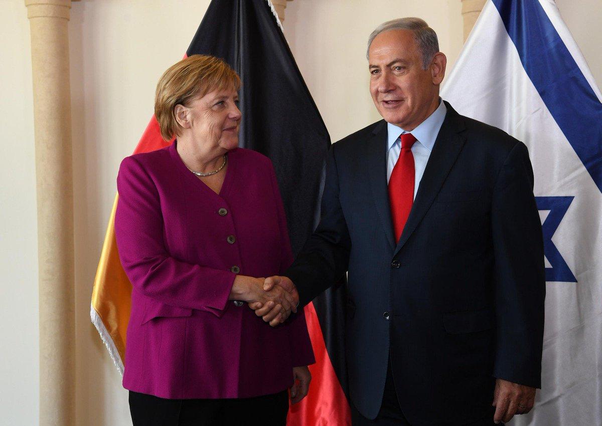 Merkel'den İsrail'e destek: Gazze'den İsrail'e yapılan saldırılar kınandı