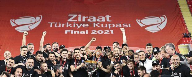 Ziraat Türkiye Kupası Beşiktaş'ın!