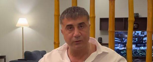Sedat Peker: BAE uyardı, yüksek risk nedeniyle video paylaşamıyorum