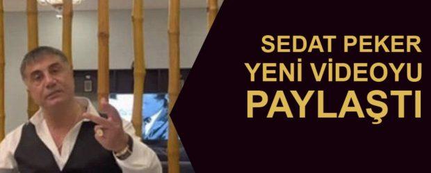 Sedat Peker'den yeni video paylaşımı