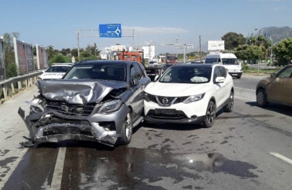 Girne – Alsancak yolunda kaza