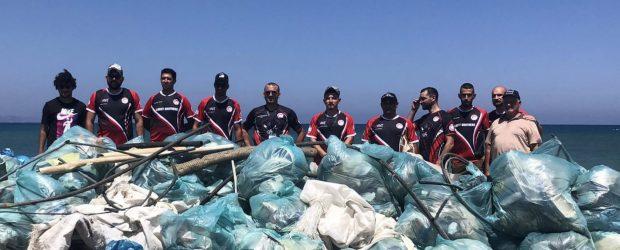 Gaziveren'de sahil ve Gemikonağı'nda da deniz dip temizliği yapıldı