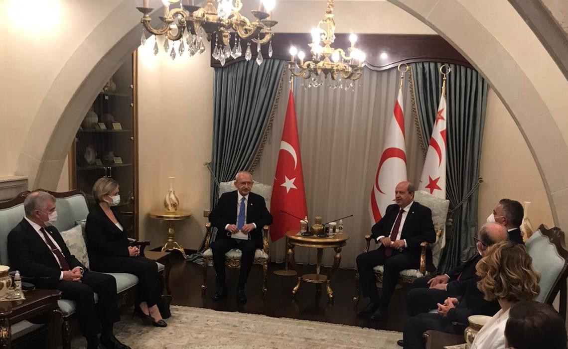 Cumhurbaşkanı Tatar, Kılıçdaroğlu ile görüştü