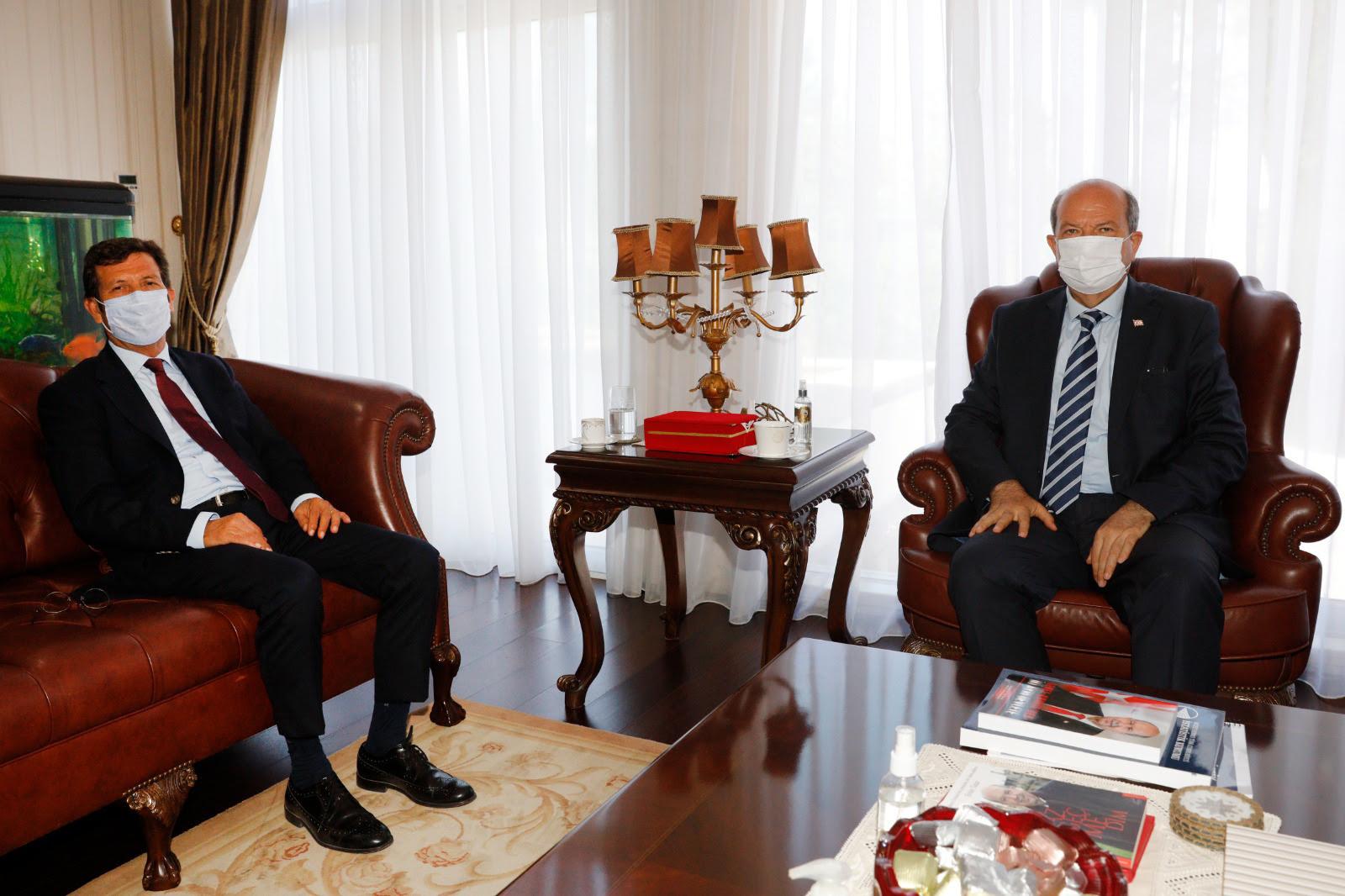 Tatar, Merkez Bankası Başkanı ile görüştü