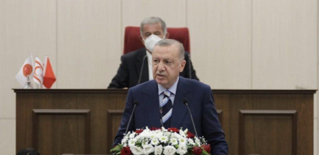 """Erdoğan'ın müjdesi: """"Cumhurbaşkanlığı Külliyesi ve yeni Parlamento Binası"""""""