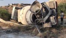 Girne-Değirmenlik yolunda kaza! 5 kişi yaralandı