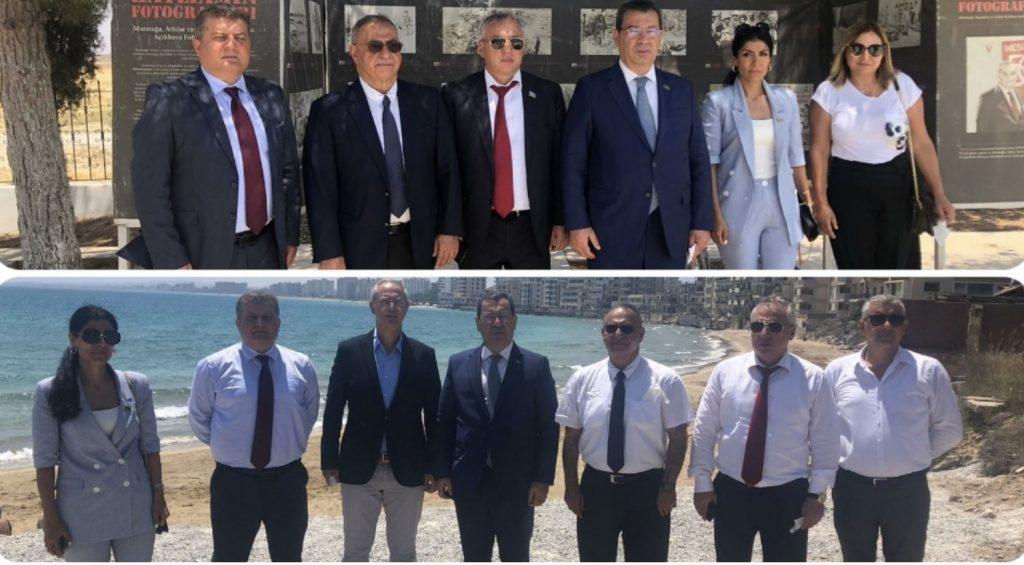 Azerbaycan heyetinden ziyaretler