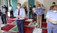 Maraş'ta 47 yıl sonra ibadete açılan Bilal Ağa Mescidi'nde ilk cuma namazı kılındı
