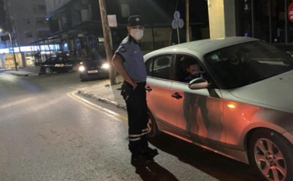 41 Kişi sokağa çıkma yasağını ihlal etti