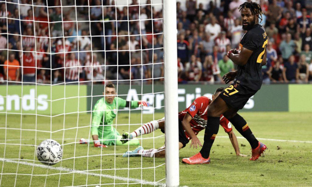 Galatasaray, UEFA Şampiyonlar Ligi 2. eleme turu ilk maçında PSV Eindhoven'a 5-1 mağlup oldu