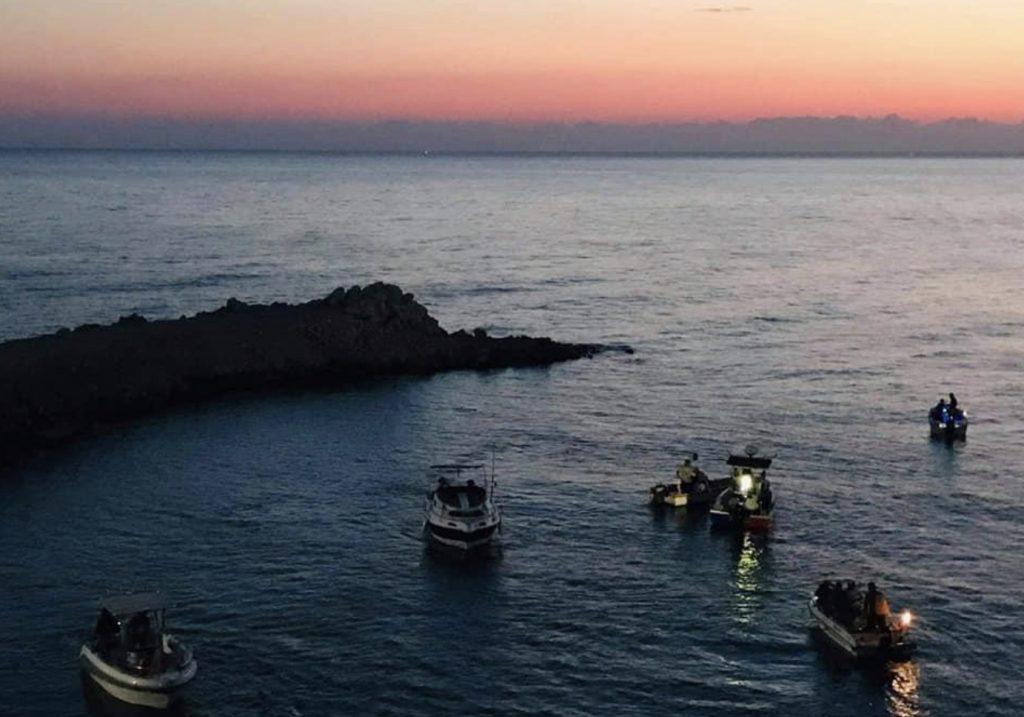 Tekneden Olta ila Albakor Avi musabakasi yapıldı