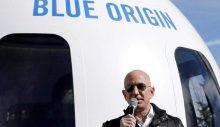 Bezos uzay yolcusu