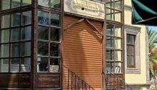 Kanuni Sultan Süleyman'ın doğduğu eve otomatik panjur kapı takıldı