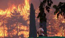 21 ilde 63 orman yangını