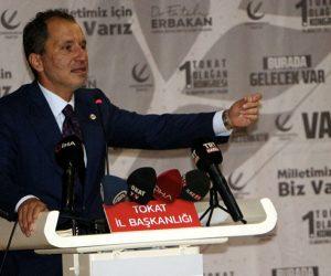 Yeniden Refah Partisi Başkanı Erbakan: Varyantların sebebi aşılar