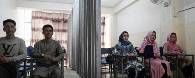 Afgan kadınlar erkeklerle aynı sınıfta okuyamayacak
