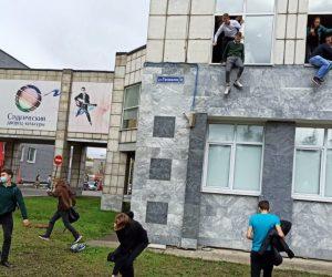 Rusya'da üniversiteye silahlı saldırı!